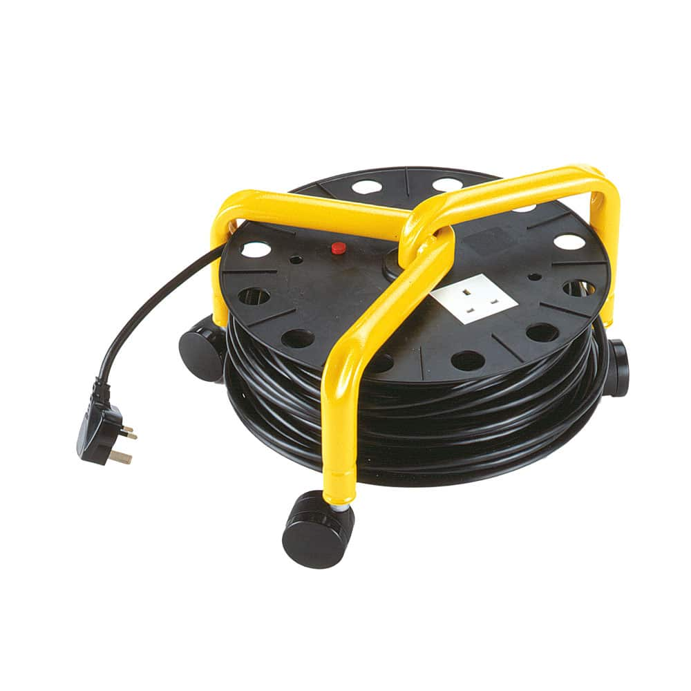 Cable Roll Extension for Mains Machines 20m Cable Roll Extension