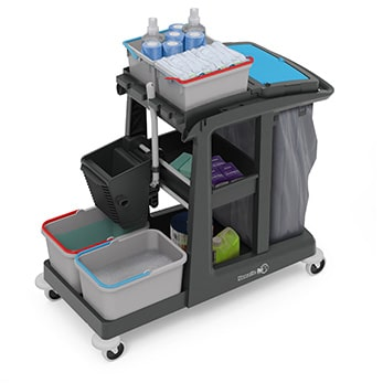 ECO-Matic Cleaning Trolley Range