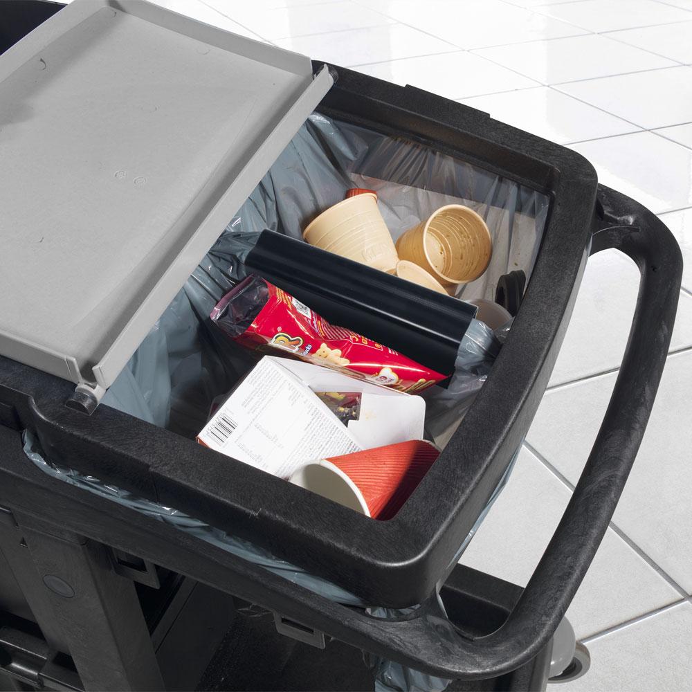 EM6 Bag Splitter Feature