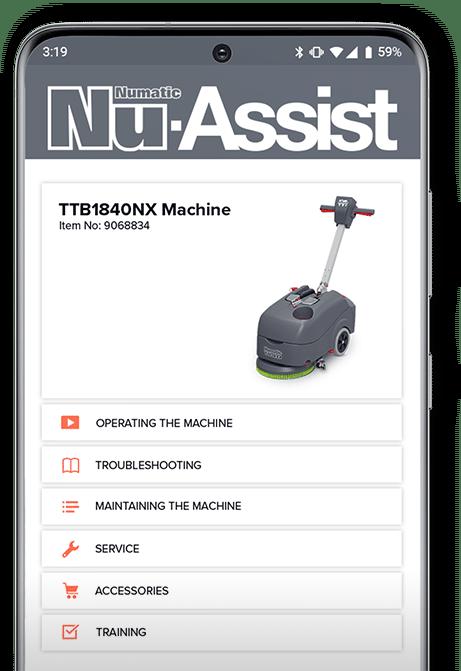 Nu Assist Mobile App