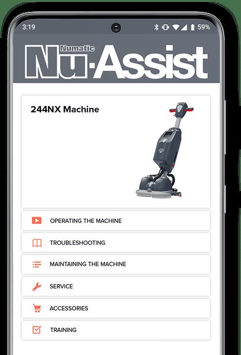 Nu-Assist Phone Mockup 244NX V2